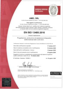 Amel Certification ISO 13485
